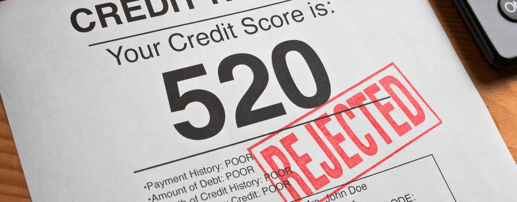 Poor credit score for loans